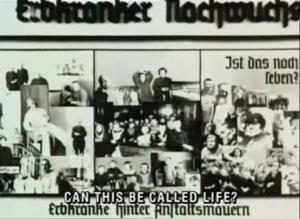 """""""Può questa essere chiamata vita?"""" Il concetto nazista di eutanasia"""
