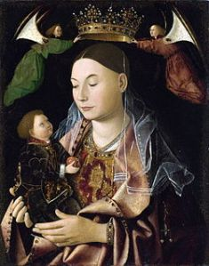 Antonello da Messina, Madonna Salting, 1460-1469, olio su tavola, Londra, National Gallery