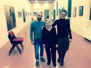 Margherita Fontanesi, Salvatore Trapani e Fania Brancovskaja