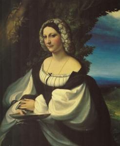Il Correggio, Ritratto di Gentildonna (probabilmente Veronica Gambara)