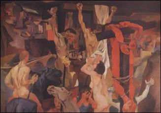 Guttuso, Crocefissione, 1942