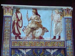 la personificazione di Roma