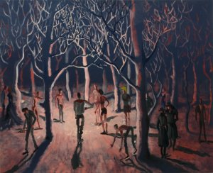 Alessandro Bazan, Refuses, 2009, olio su tela, 120 x 150