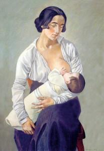 Gino Severini, Maternità, 1916, Museo dell'Accademia Etrusca, Cortona
