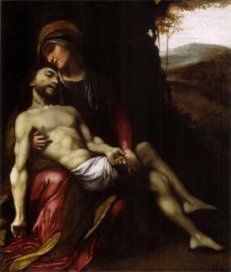 Correggio, Pietà, 1512 ca., Museo Civico, Correggio