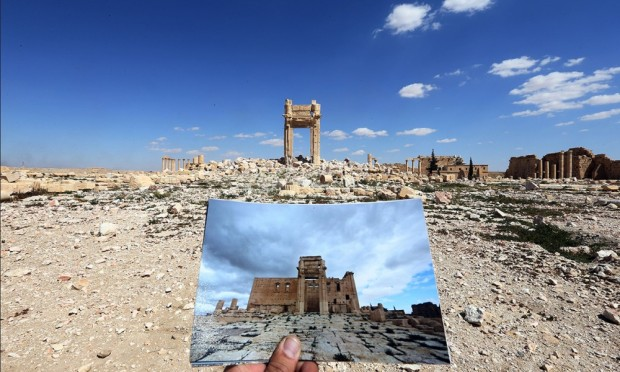 Palmira_il tempio di Bel_31032016_JosephEid_afp_getty images
