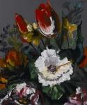 massimo-pulini-un-bianco-sole-e-basse-basse-nubi-2011-smalto-su-tavola-cm-60x50
