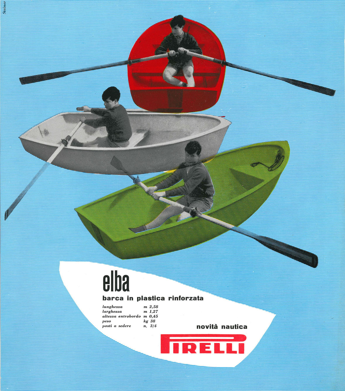 Una-pagina-pubblicitaria-per-barche-in-plastica-Pirelli-1961