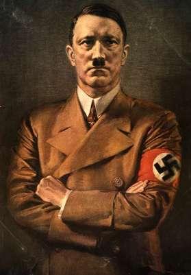 Otto Von Kursell, ritratto di Hitler