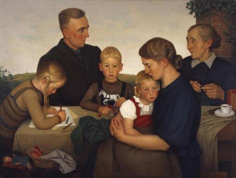 Adolf Wissel, La famiglia contadina Kahlenberger, 1939