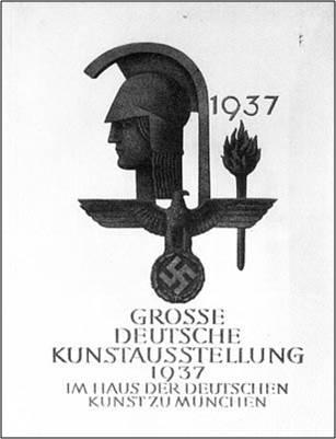 grande arte tedesca locandina